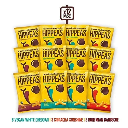 HIppeas Chickpea Puffs - Healthy Travel Snacks