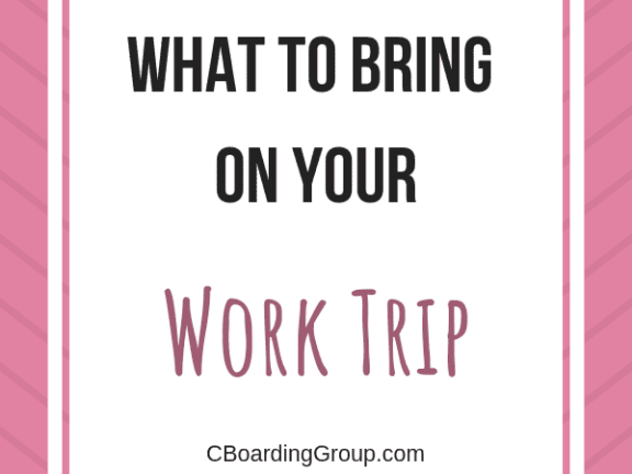 What to Bring on your Work Trip