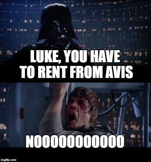 Avis Rental Car Memes - Travel Memes