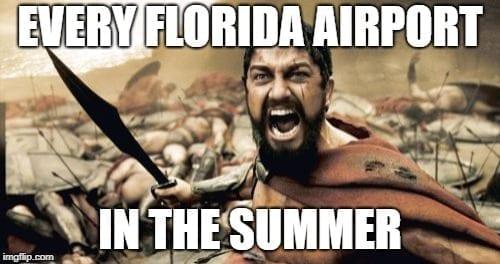 Florida Airport Memes