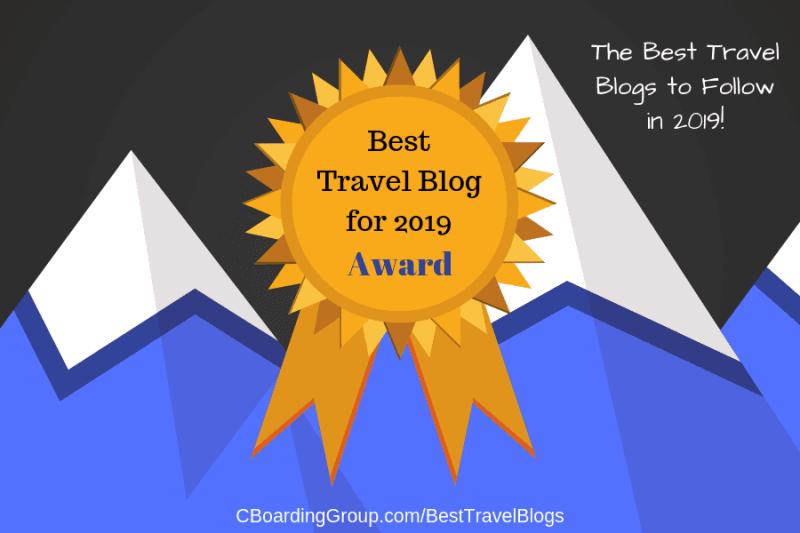 Best Travel Blog for 2019 Award