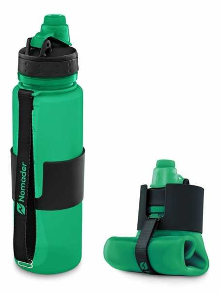 Collapsible Travel Water Bottle - Travel Gear Essentials
