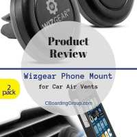 Product Review WizGear Universal Air Vent Mount (Best Phone Mount for Travel)