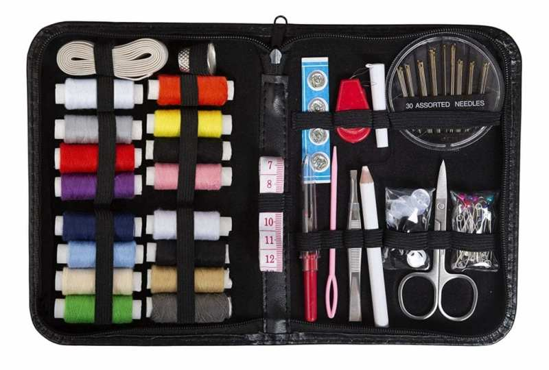 Bring a Travel Sewing Kit - Business Travel Tips