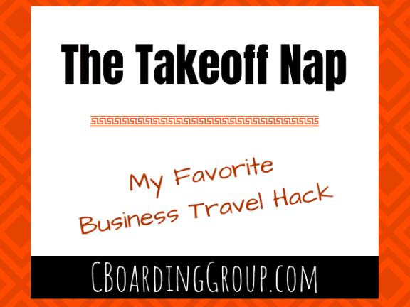 The Takeoff Nap - My Favorite Business Travel Hack