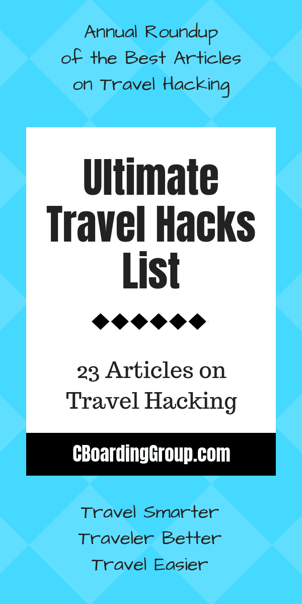 Ultimate Travel Hacks List - 23+ Travel Hacks Articles