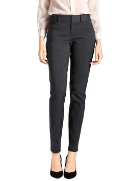 Best Business Travel Gifts SATINATO Women's Straight Pants Stretch Slim Skinny Solid Trousers Casual Business Office