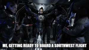 Southwest Airlines Memes - the Expanse Memes - Bobbie Draper Memes