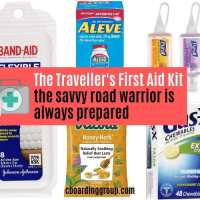The Traveller's First Aid Kit - the savvy road warrior is always prepared