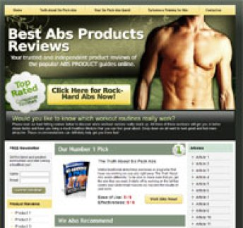 Clickbank-Niche-Storefront-Six Pack Abs