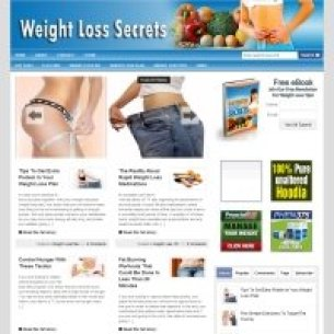 Image showing CBProAds weight loss niche storefront of lean bodies