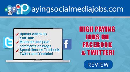 Paying social Media Jobs Review