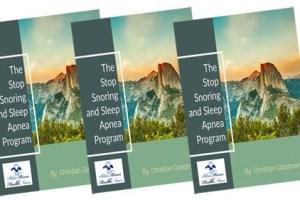 Stop Snoring And Sleep Apnea Program Review
