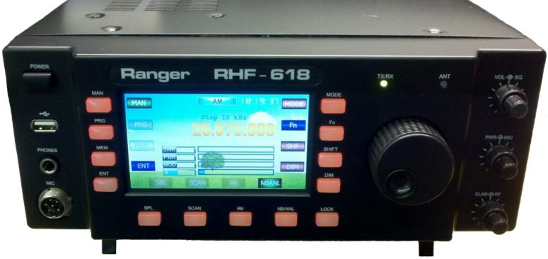 Ranger RHF-618 Amateur Radio Base Station