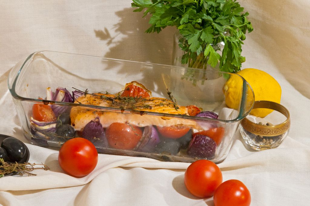Easy Way Of Cooking Salmon in Oven