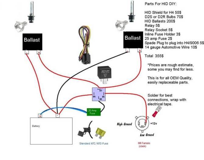 h4 bi xenon hid wiring diagram mx 6  static phase converter