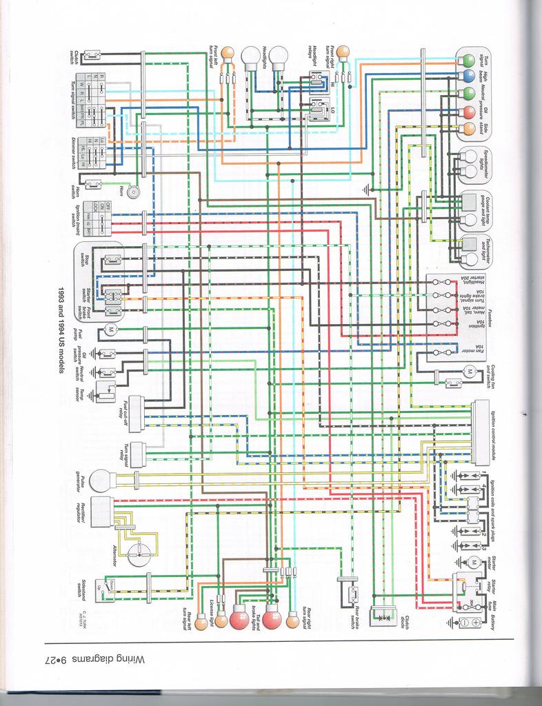 Motorcycle Wiring Diagrams 2000 Honda Cbr929rr Trusted Schematics Shadow Diagram Somurich Com Cb550