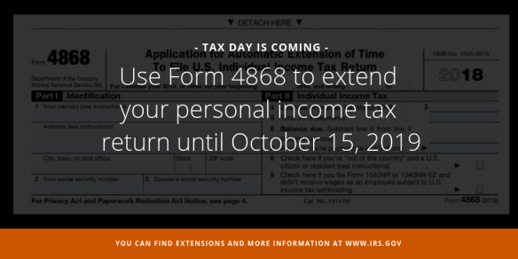 How & Why to Extend Your 2018 Form 1040 | C  Brian Streig, CPA