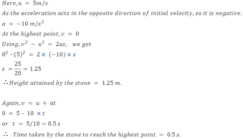 Motion NCERT Problems with Solutions for CBSE 9th Class