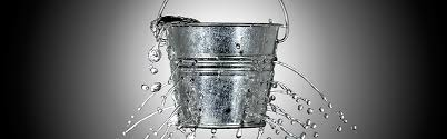 leaking bucket example