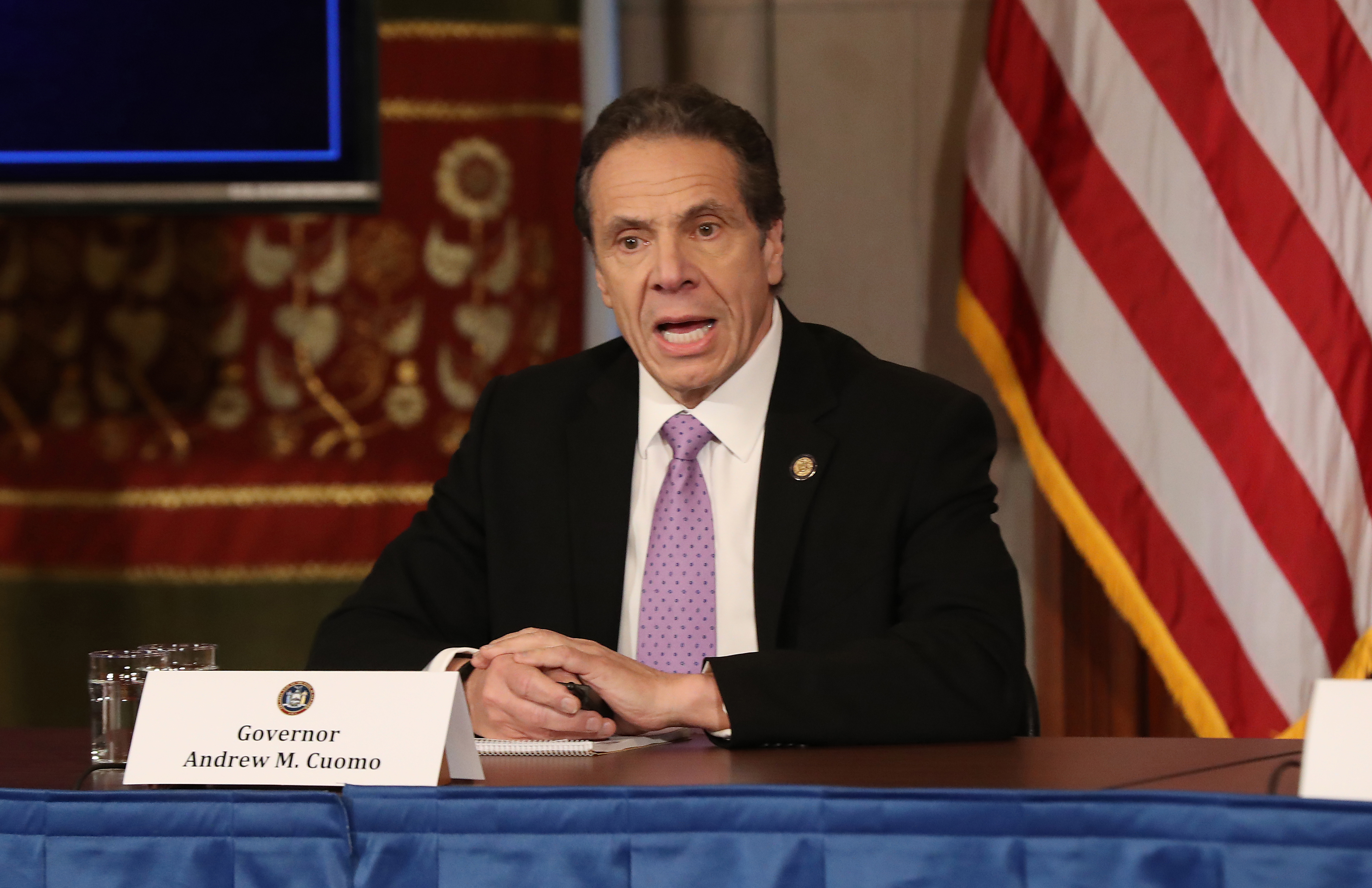New York Gov. Andrew Cuomo Holds Press Conference Wednesday, Amid Sexual Harassment Allegations