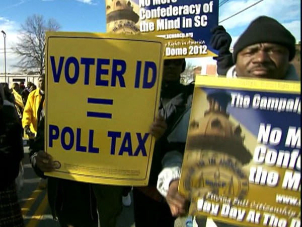 Texas voter ID law opposed by Justice Dept. - CBS News