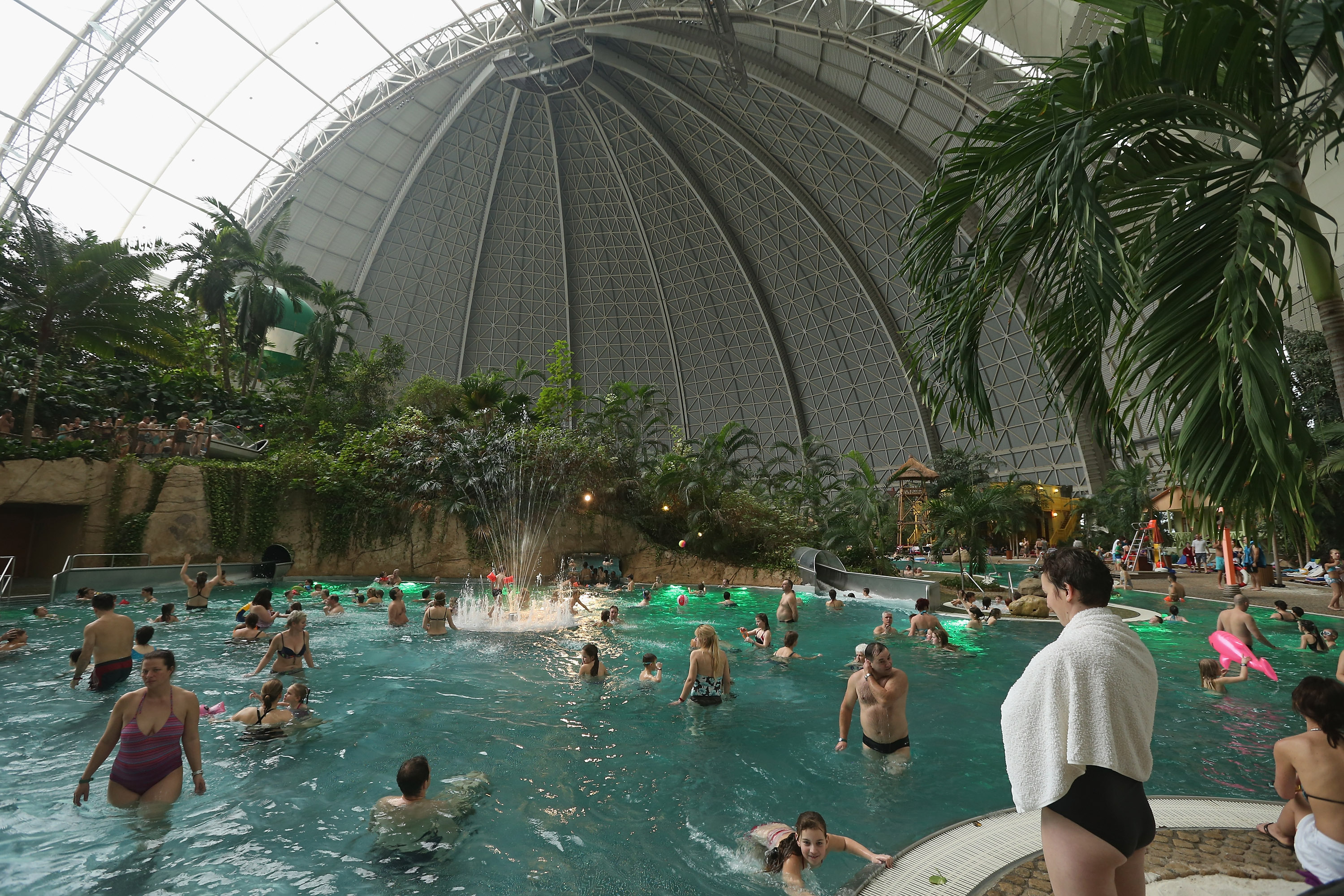 Gigantic Indoor Resort Beach