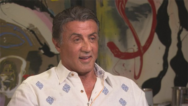 Sylvester Stallone steps back into the ring - CBS News