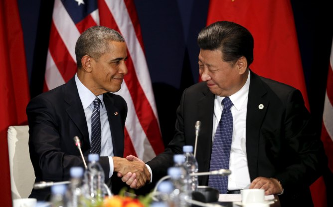 Image result for obama and xi jinping