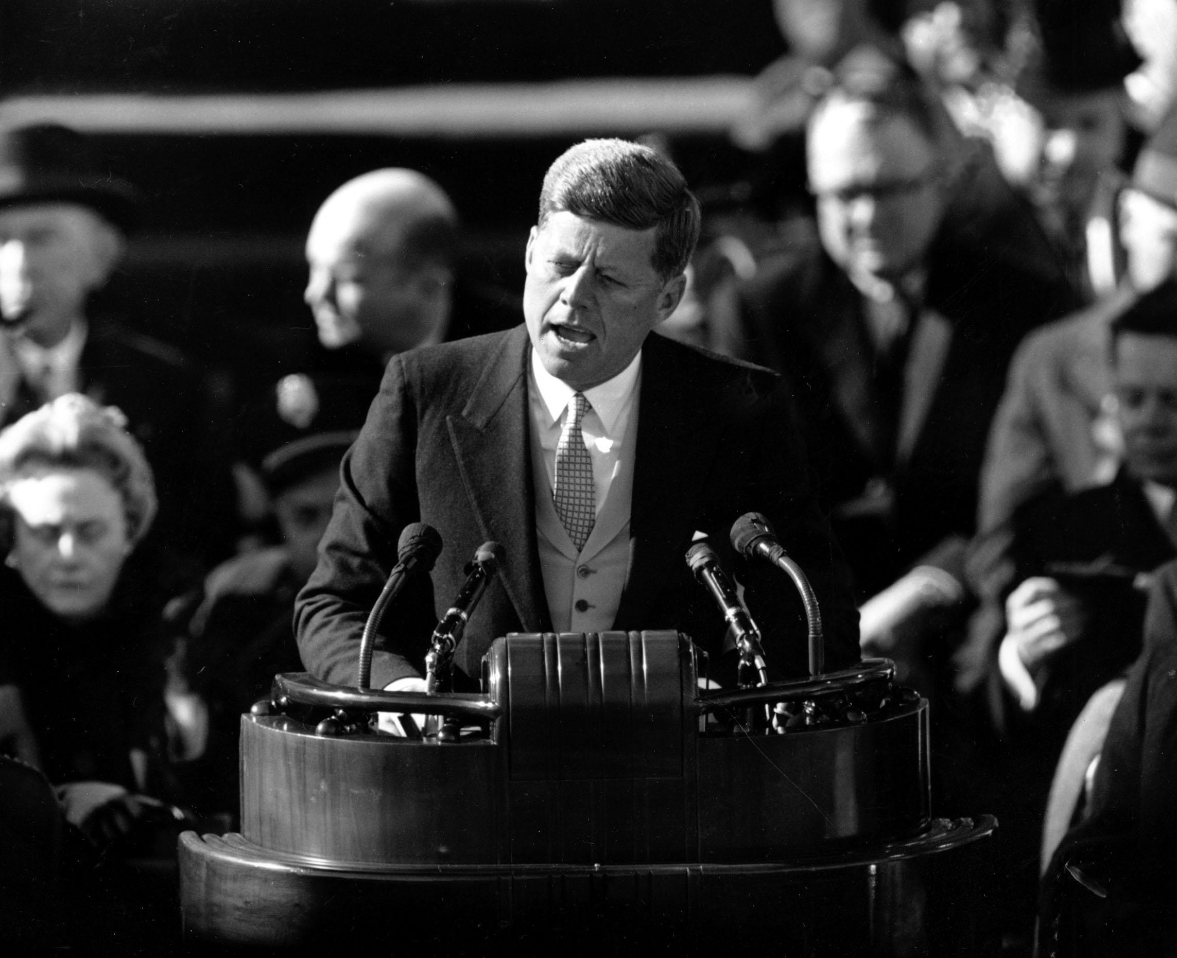 John F Kennedy Inaugural Address Jan 20