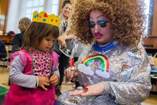 Largely positive response - Drag Queen Story Hour at NYC ...