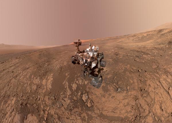 NASA Mars announcement: Organic matter on Mars discovered ...