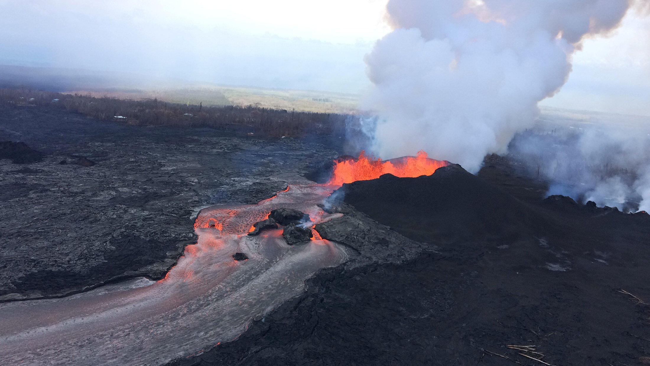 Kilauea Volcano Eruption Seismic Activity Increases Earthquakes Strike 5 Days In A Row