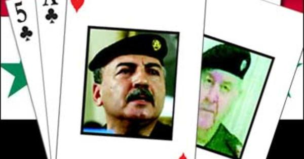 Working On A Straight With Iraqi Cards - CBS News