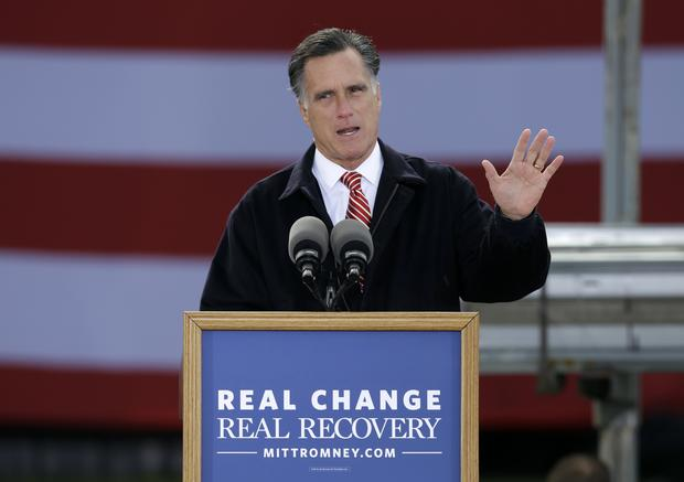 Romney: I'm the one who can tackle big problems - CBS News