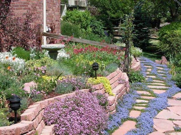 5 ways to create a grass-free garden - CBS News on Patio And Grass Garden Ideas id=72207