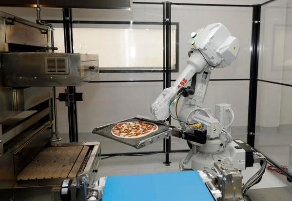 Invasion of the pizza-making robots - CBS News