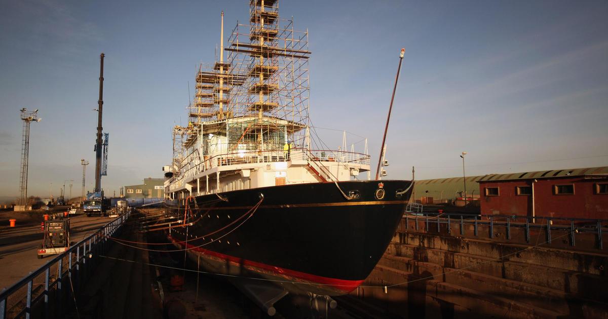 Royal Yacht Britannia Queen Elizabeth IIs Boat Could
