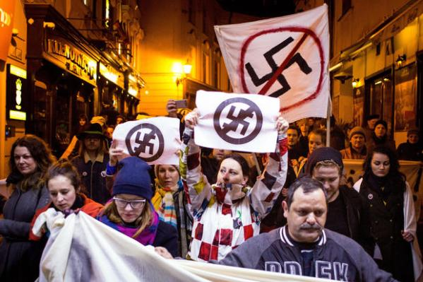 Slovakia far-right People's Party embraces Nazi past - CBS ...