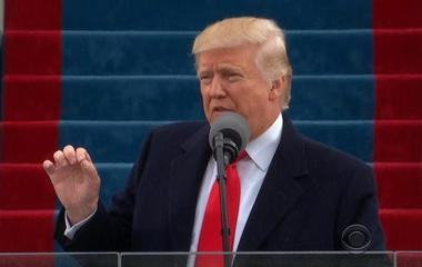 Trump speaks to his supporters in defiant inaugural address