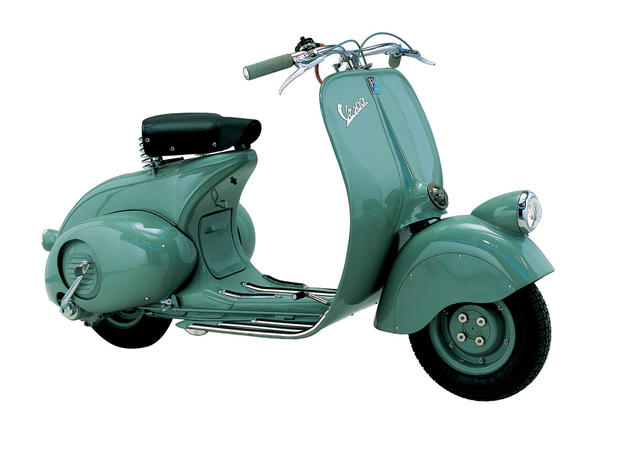 Vespa 98 The Style Of Vespa Pictures CBS News