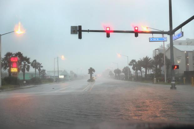 Hurricane Sally Makes Landfall On Gulf Coast