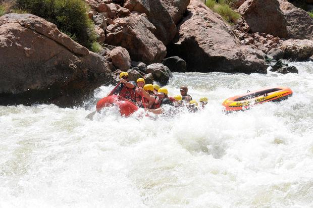 Eric Ashby's raft