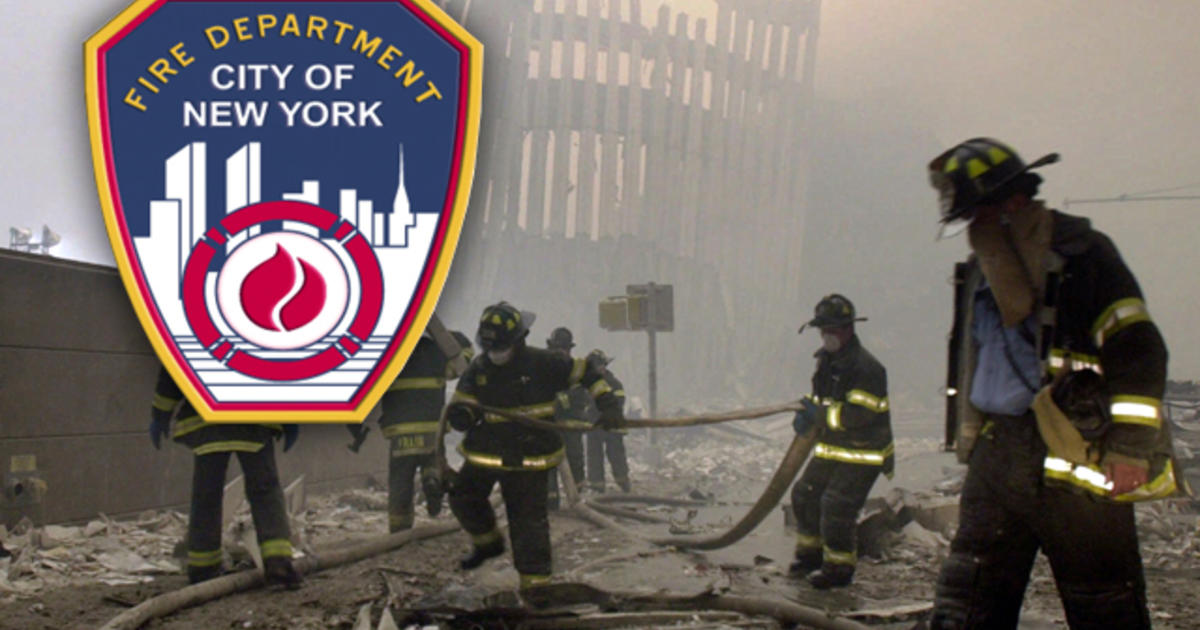 Study Shows Rise Of Cancer In 911 Firefighters CBS News