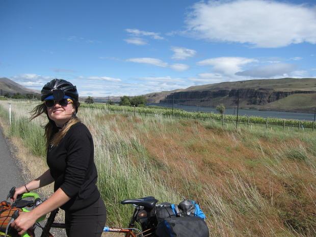 Cross-country bike ride honors dad, 9/11 victim - Photo 2 ...