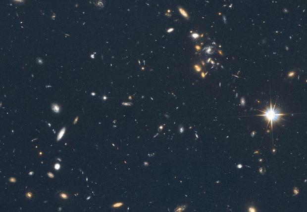 "Unretouched nebula - Hubble Space Telescope's ""hidden ..."