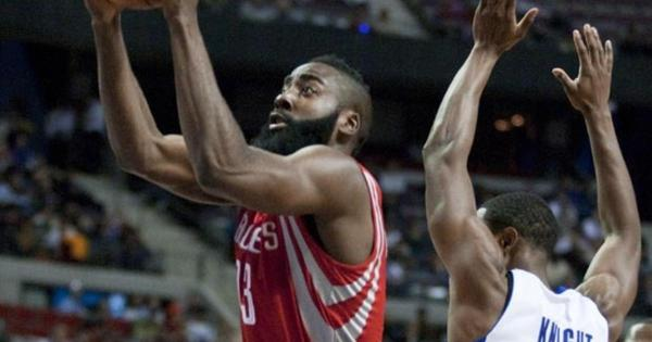 James Harden's Rockets debut: 37 points, 12 rebounds, $80 ...