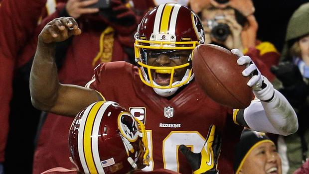 RG3, Redskins beat Cowboys, win NFC East - CBS News