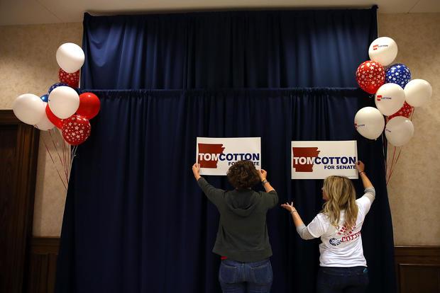 Joni Ernst - Republicans gain control of Senate - Pictures ...