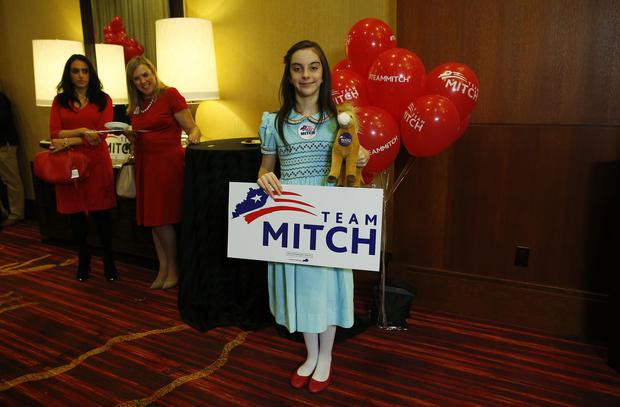 Mitch McConnell - Republicans gain control of Senate ...